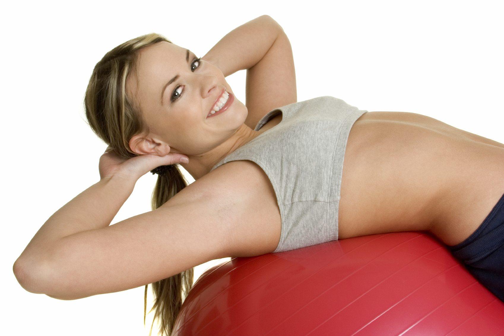 5 exerciții pentru mușchii abdominali