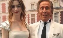 Rochia de mireasa a actritei Anne Hathaway va fi creata de Valentino
