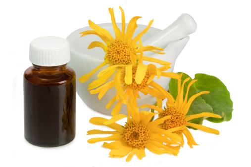 Piele catifelată cu ulei de arnică