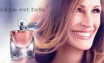 Julia Roberts vorbește despre noul parfum Lancome, La Vie Est Belle