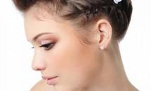 Coafuri pentru mirese cu părul scurt