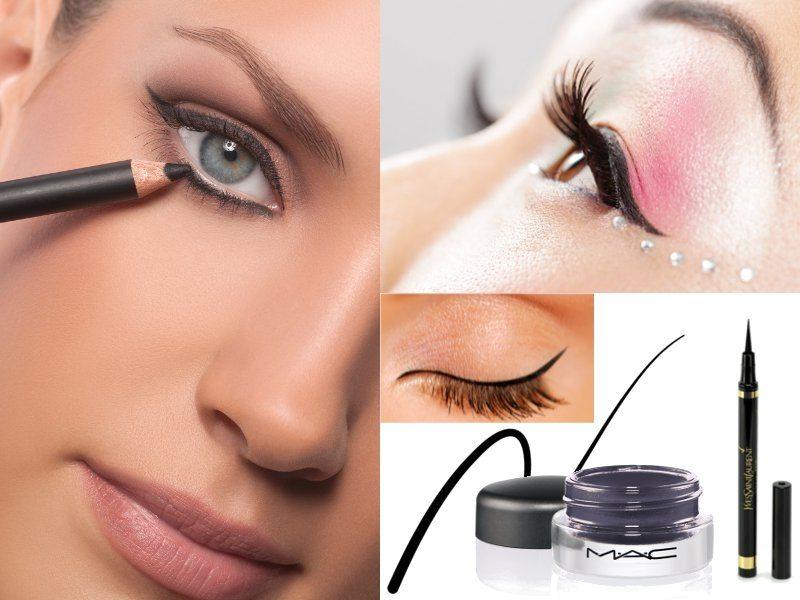 Cum se aplică corect dermatograful și tușul de ochi