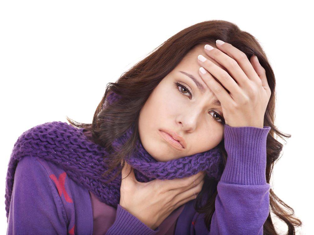 Echinacea tratează durerile în gât