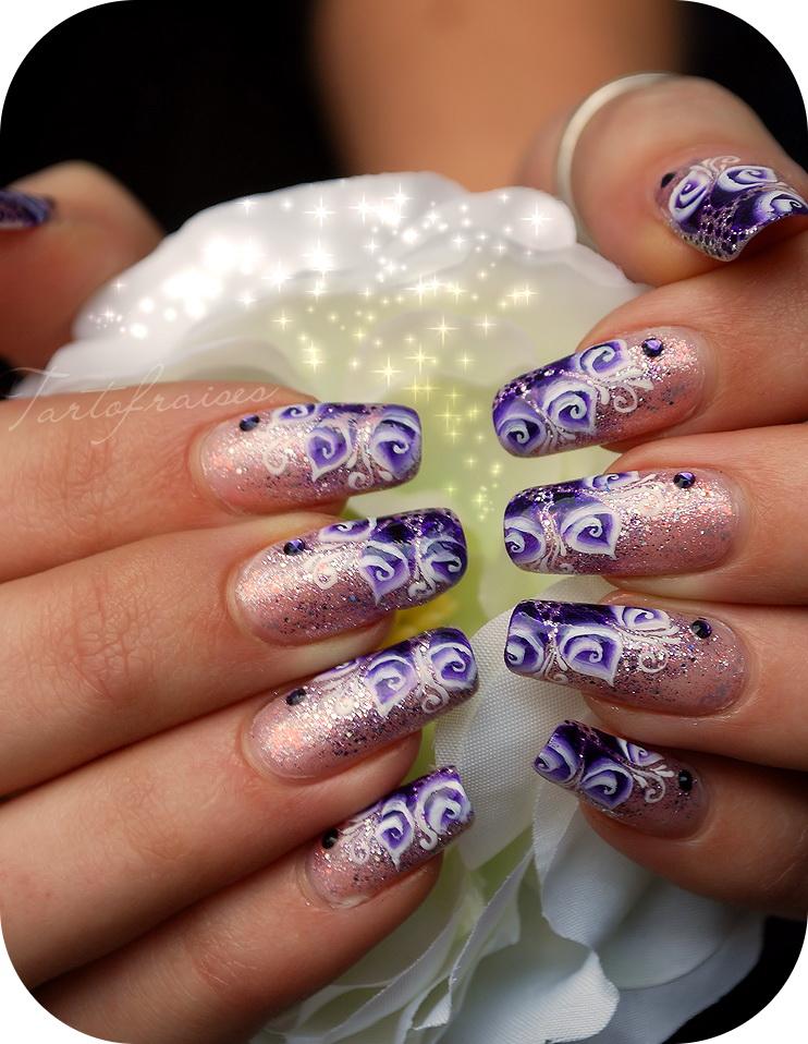 modele creative unghii cu gel