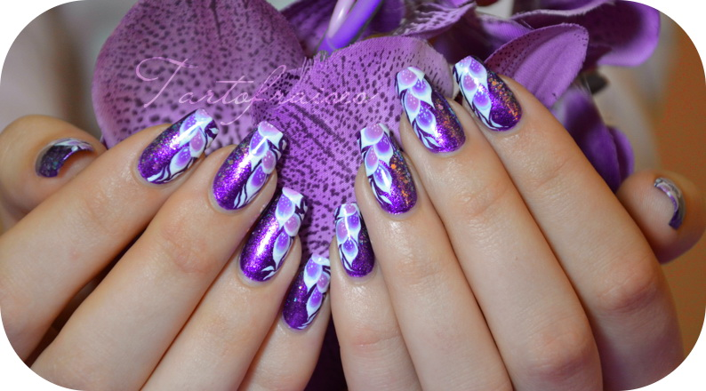 Modele de unghii cu gel abstracte