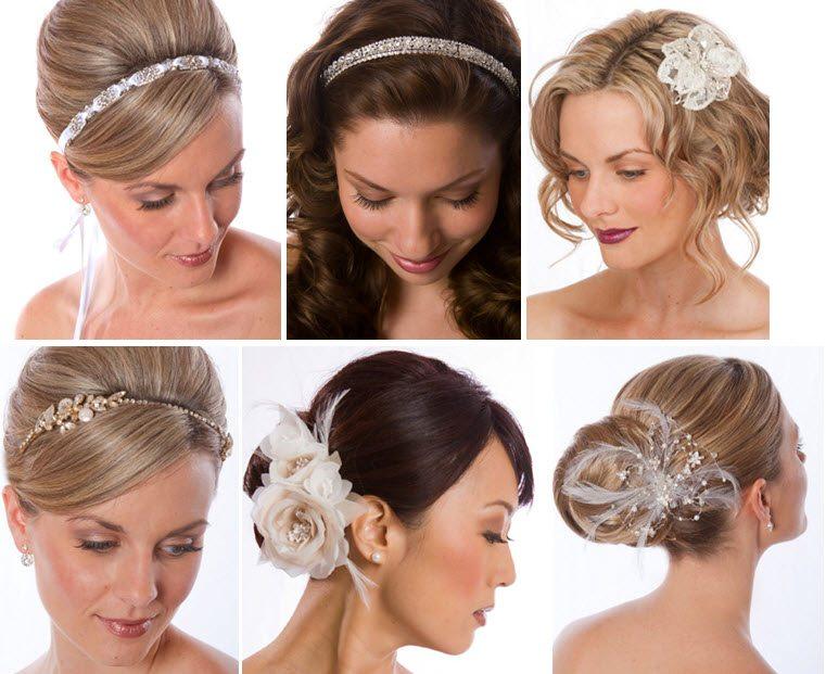 Coafuri de nuntă pentru păr scurt