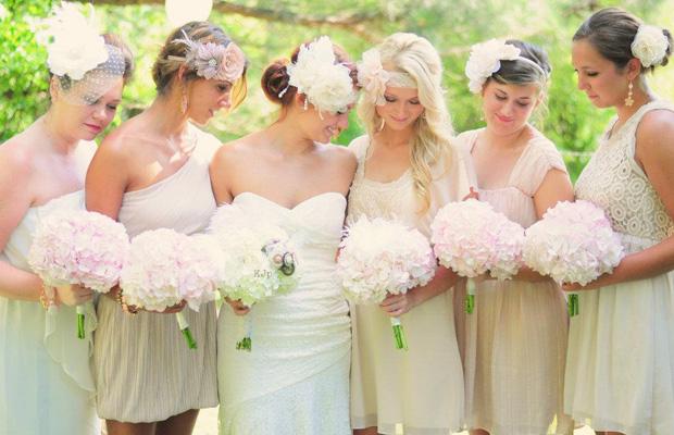 Coafuri de nunta in functie de anotimp