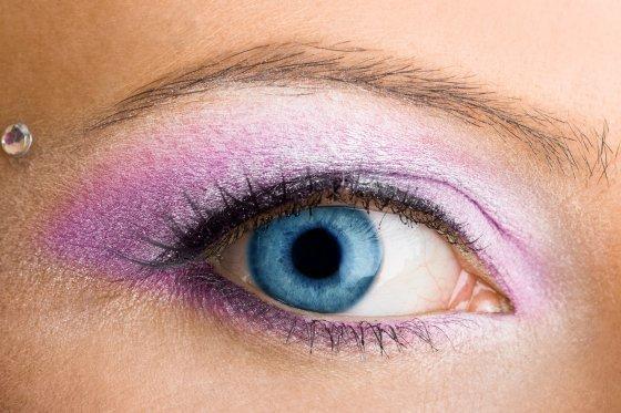 Machiaj pentru ochii albastri