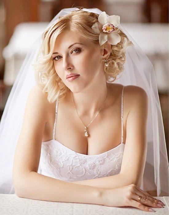 coafuri de nunta pentru par scurt 2