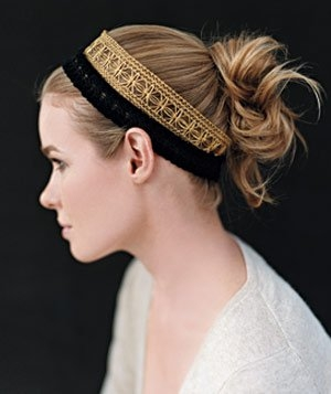 Coafuri par lung elegante
