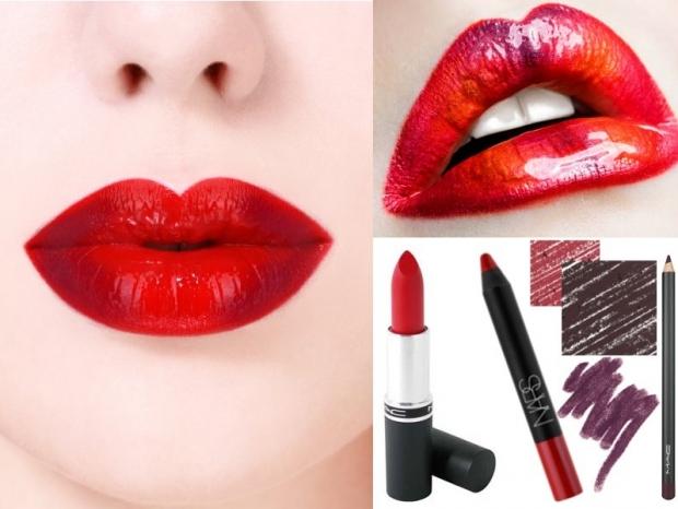 Buzele rosii si dermatograful