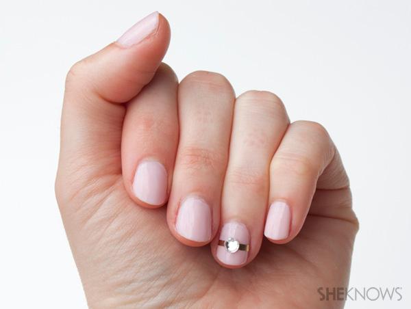 Idei pentru unghii romantice