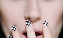 Modele de unghii Minx cu folie aurie si argintie