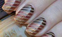 Modele de unghii cu gel pentru toamna 2017