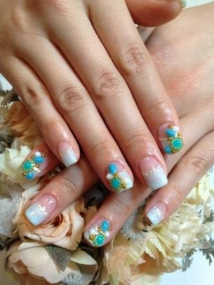 unghii cu gel pentru vara