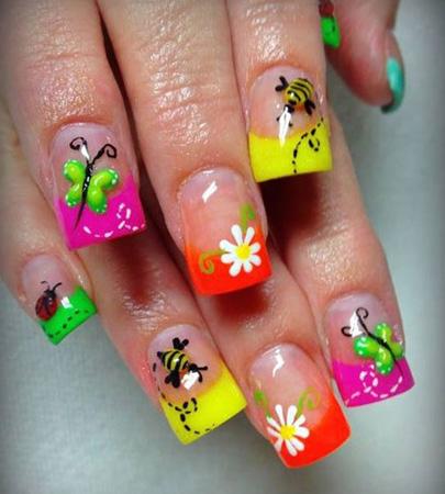 Modele de unghii pentru vara