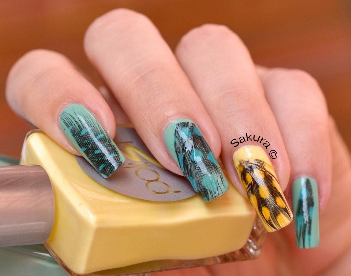 Modele pentru unghii simple