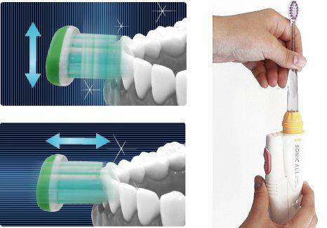 Studiu: avantajele folosirii periutei de dinti electrice