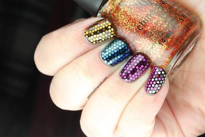 modele unghii colorate