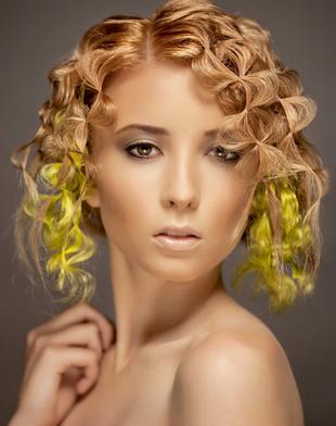 Culori de par pentru pielea bronzata