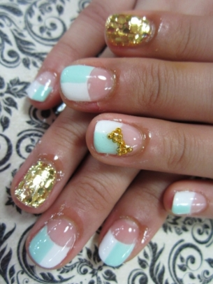 Modele pentru unghii cu gel