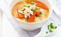 Supa cu pui si orez