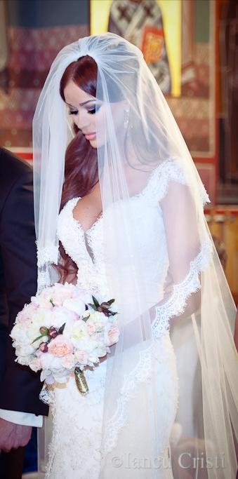 Bianca Dragusanu a postat poze de la nunta