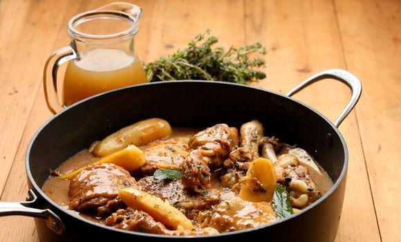 Carne de pui cu gutui