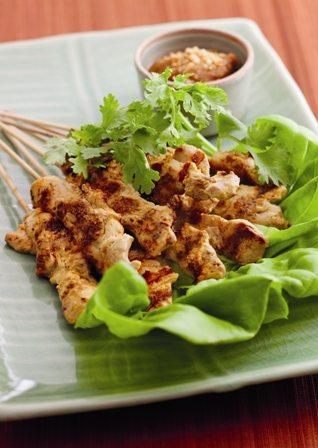 Gustare de pui cu sos Satay