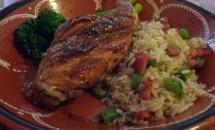 Carne de iepure cu chorizo si orez