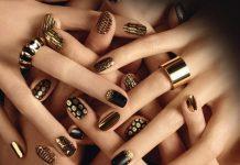 Modele-de-unghii-aurii