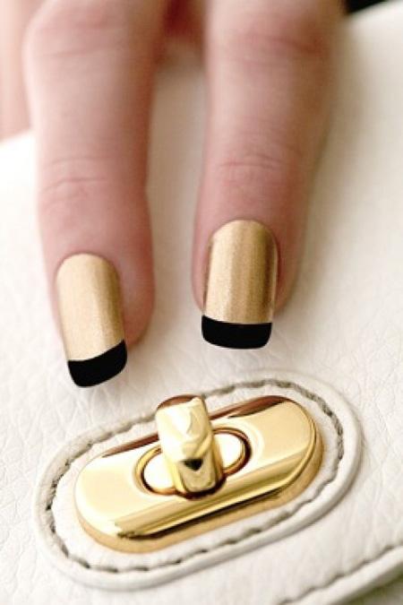 Modele unghii aurii