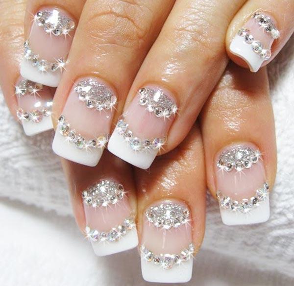 Modele de unghii pentru nunta