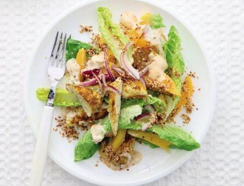 Salata de pui cu dressing picant