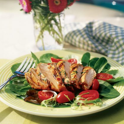Salata de pui in stil italian