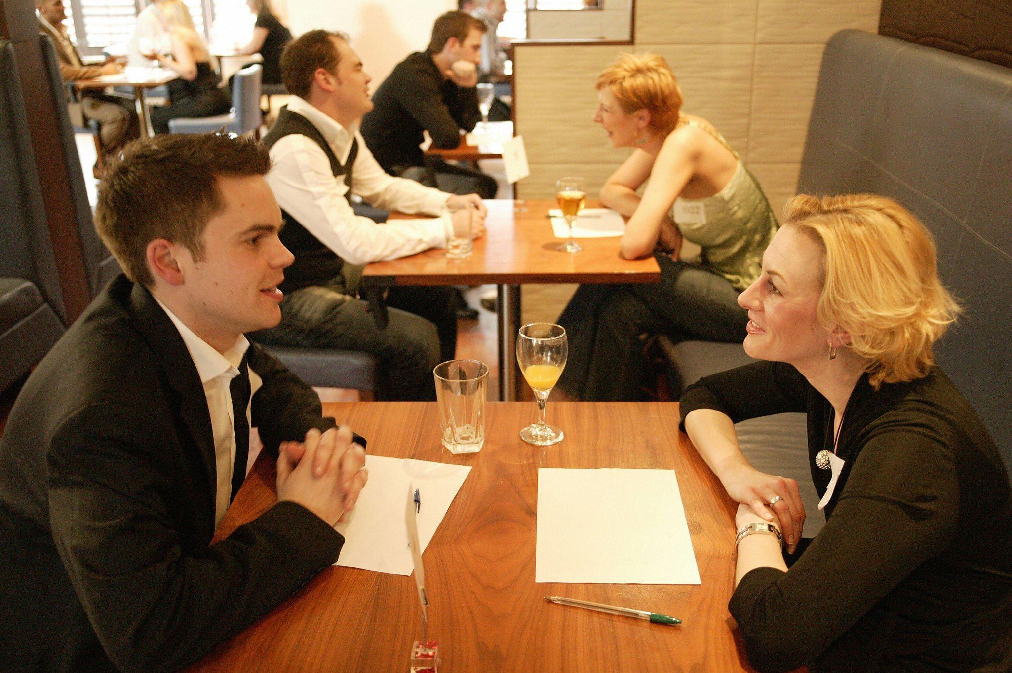 Speed dating: o noua forma de petire