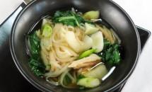 Supa cu carne de curcan in stil asiatic