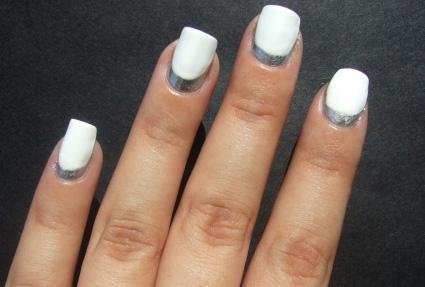 manichiura argintie