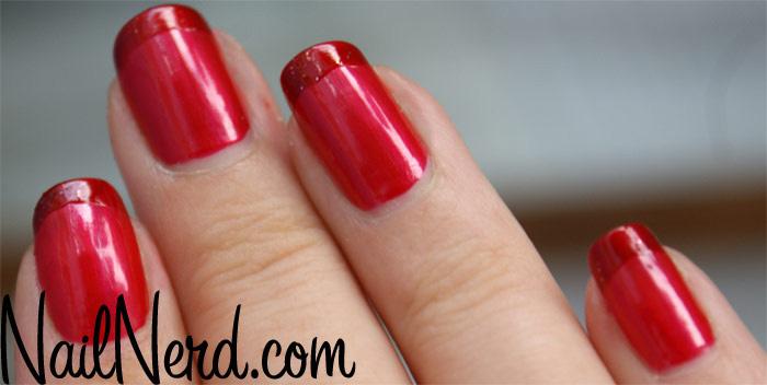 unghii french rosii