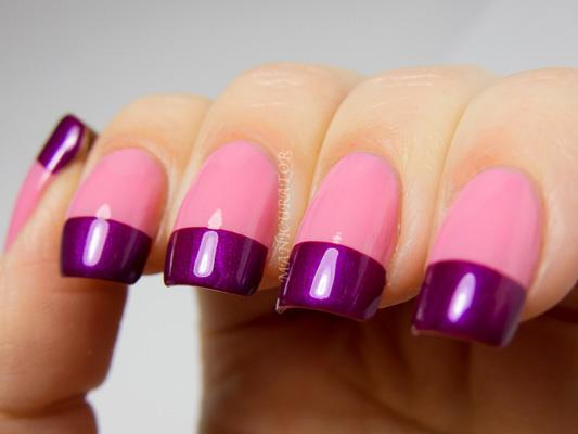 modele unghii cu gel french