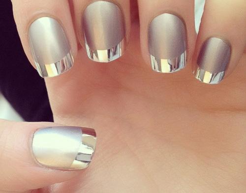modele unghii argintii