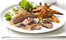 Carne de vita cu cartofi crocanti