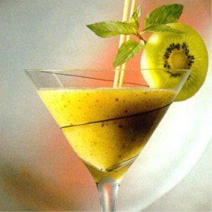 Cocktail Kiwi Collins