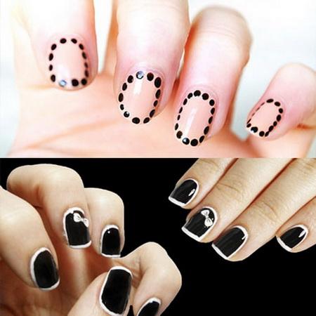 Modele de unghii mici