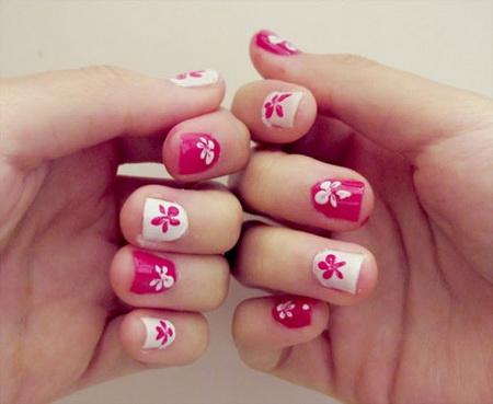 Modele pentru unghii mici