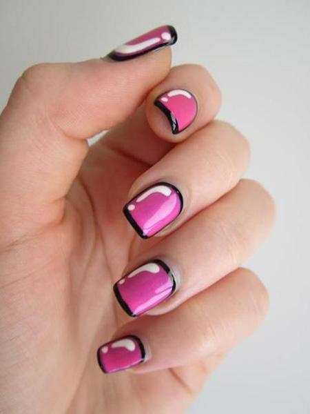Modele unghii usor de facut