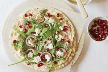 Pizza cu humus