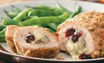 Rulouri din carne de pui cu Gorgonzola