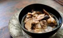 Supa de carne de pui cu ciuperci chinezesti