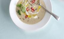 Supa aromata de pastarnac cu sunca